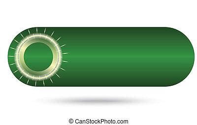 gröna abstrakta, knapp
