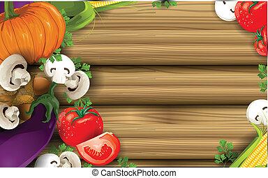 grönsak, bakgrund