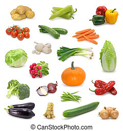 grönsak, kollektion
