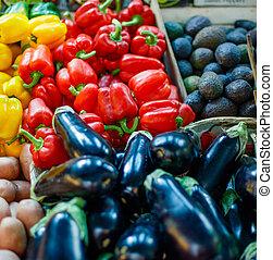 grönsaken, bönder marknadsför