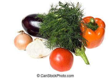 grönsaken, isolerat