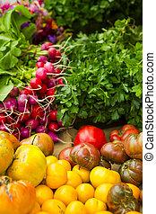 grönsaken, organisk