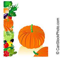 grönsaken, pumpa