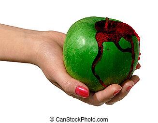 grönt äpple 2