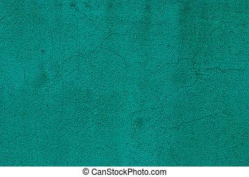 grönt vägg, konkret