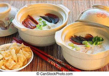 gröt, ris, kinesisk