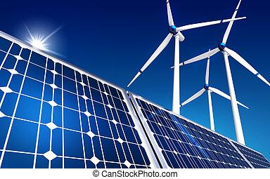 grønne, energi