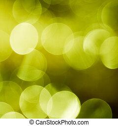 grønne, forår, bokeh