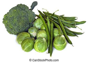 grønne grønsager