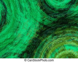 grønne, grunge, baggrund