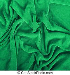 grønne, klæde