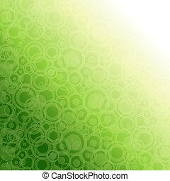 grønnes abstrakte, lys, baggrund.