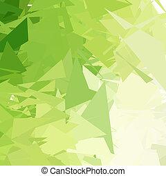 grønnes lys, abstrakt, baggrund