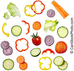 grønsag, mad, salat, diæt