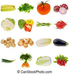 grønsag, samling