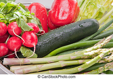grønsager, ordning