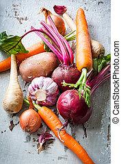 grønsager, rod