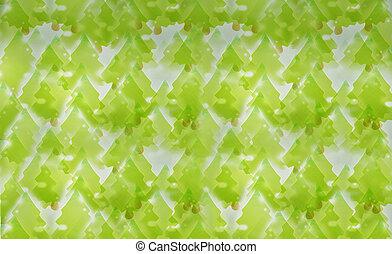 grün, Bäume, hintergrund