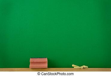 grün, black-board