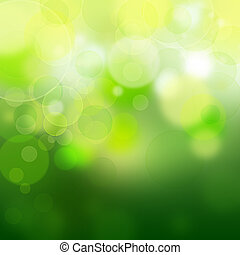 grün, bokeh