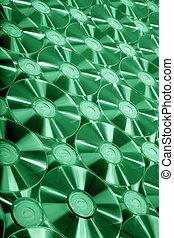 grün, cd, beschaffenheit