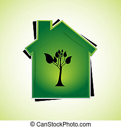 grün, daheim