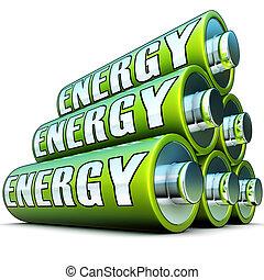 grün, energie