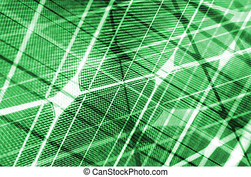 grün, energie, grün, solarmodul