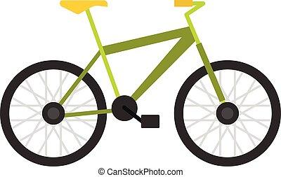 ikone comics stil fahrrad gr n stil comics fahrrad gr ner hintergrund wei es ikone. Black Bedroom Furniture Sets. Home Design Ideas