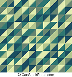 grün, geometrisches muster