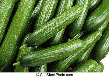 grün, gurke