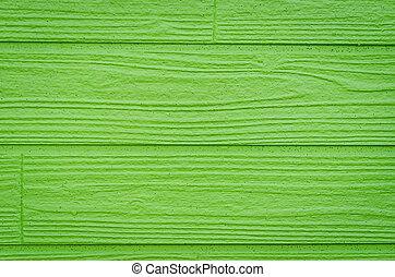 grün, hölzern, hintergrund.