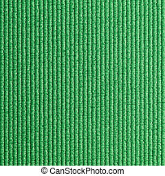 grün, joga matte, beschaffenheit, hintergrund