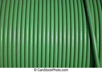 grün, kabel