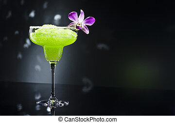 grün, margarita, cocktail