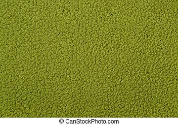 grün, polar, vlies, hintergrund, beschaffenheit