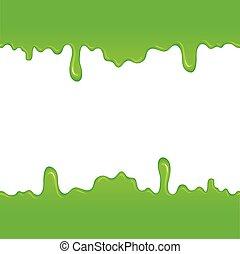 Muster Grün Schleim Web Beweglich Muster Schleim