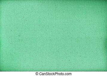 grün, segeltuch, beschaffenheit, hintergrund