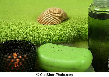 grün, spa