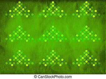 grün, weihnachtsbaum, hintergrund