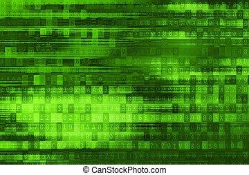 grüner hintergrund, digital