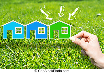 Captivating Grünes Haus, Begriff