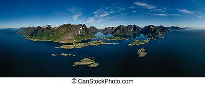 graafschap, lofoten, archipel, nordland, norway.