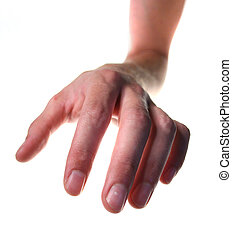 grab and steal hand - hand try to grab or steal. human arm...