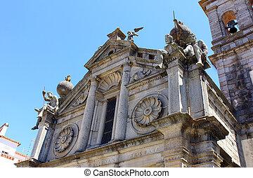 Graca church, Evora, Portugal