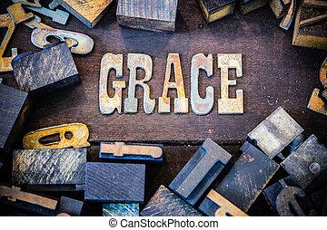 Grace Concept Rusty Type