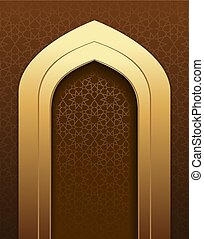 Graceful Arabic Background