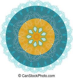 graceful mandala for your design