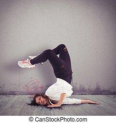 Graceless dancer
