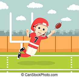 gracz, amerykańska piłka nożna
